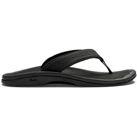 OluKai Ohana Sandals Women black/black